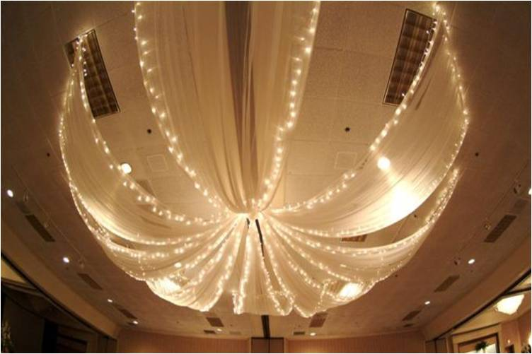 Ceiling Decor | Your Perfect Day's Wedding Chat
