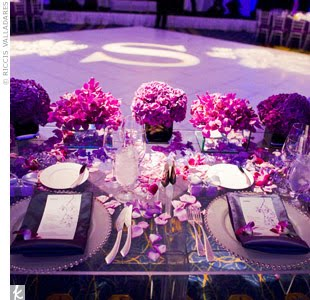 Best Purple Wedding Table Settings Pictures - Styles & Ideas 2018 ...