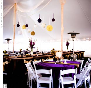 Use purple table cloths to WOW your guests when they walk into your venue Uncategorized   Page 12   Your Perfect Day s Wedding Chat. Purple Tablecloths For Wedding. Home Design Ideas