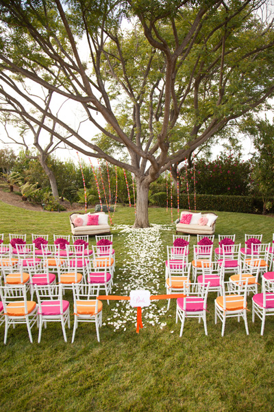 Wedding Ceremony Chair Decor 5