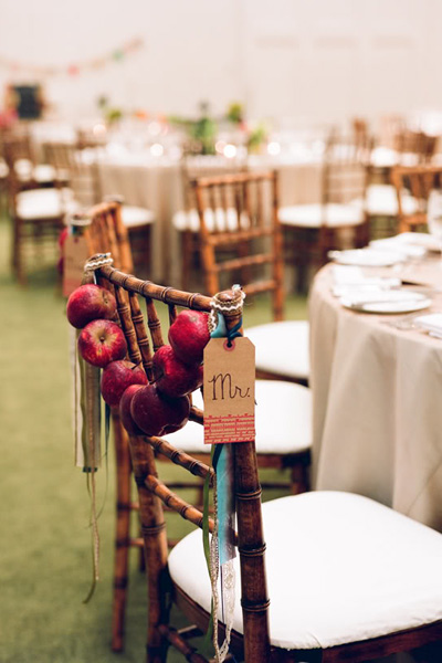 Wedding decor chair covers sashes perrysburg wedding for Decorating chairs for wedding reception